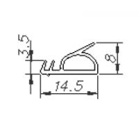 Уплотнитель для деревянных окон и дверей 116