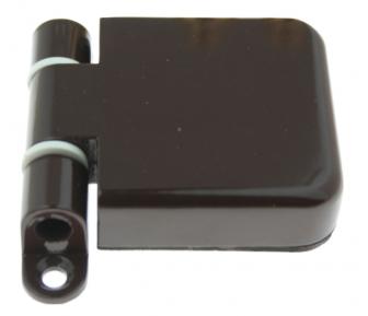 Петля для стеклянной двери 55x60 мм CR