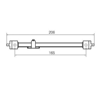 Межрамный механизм Abloy Primo WF250