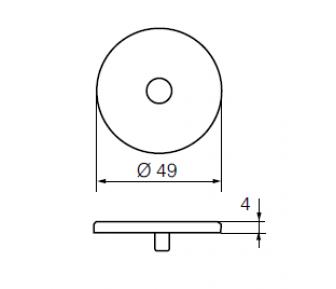Покрывающий щиток LH001 Р