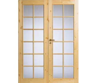 Двустоворчатая дверь Jeld-Wen 58P