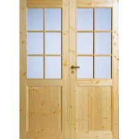 Двустворчатая дверь Jeld-Wen 52P