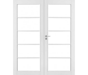 Двустворчатая дверь Jeld-Wen 129P