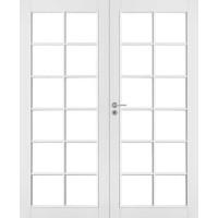 Двустворчатая дверь Jeld-Wen 105P