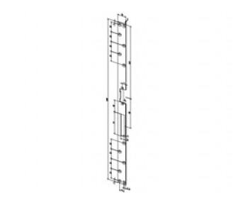 Плоская запорная планка Effeff 021 угловая