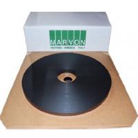 Лента противопожарная, черная (самоклеющаяся) MARVON 10*1 mm