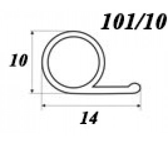 Уплотнитель для деревянныx окон и дверей OT-Kumi 101/10