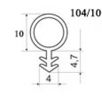 Уплотнитель для деревянных окон и дверей OT-Kumi 104/10