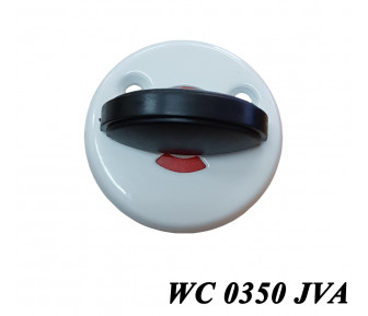 Сантехническая поворотка WC 0350 Белая JVA