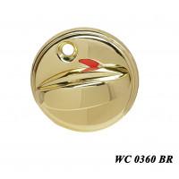 Сантехническая поворотка WC 0360 Бронза BR