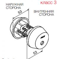Цилиндр Abloy CY002