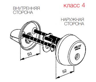 Цилиндр Abloy CY013