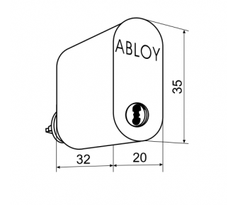 Цилиндр Abloy CY201