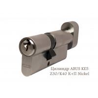 Цилиндр ABUS KE5 Z30/K40 К+П Nickel