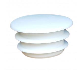 Заглушка пластиковая круглая D-14мм белая
