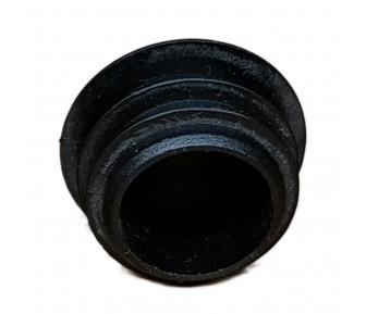 Заглушка пластиковая круглая D-14мм Чёрная