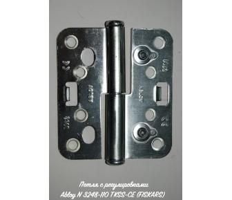 Петля с регулировками Abloy N 3248-110 TKSS-CE (FISKARS)